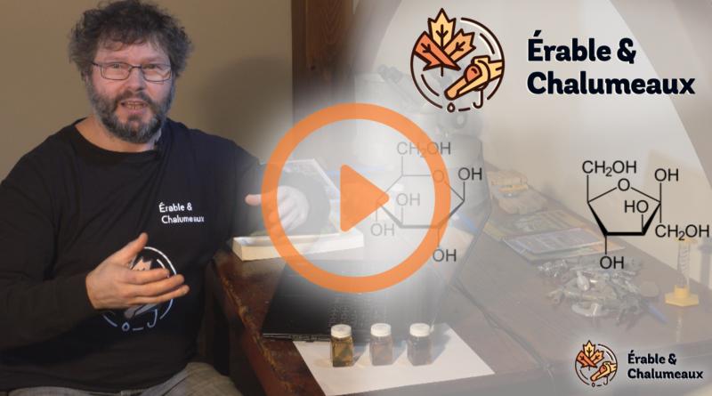 video couleur et saveur du sirop d'érable