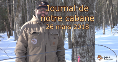 vidéo Journal 26 mars