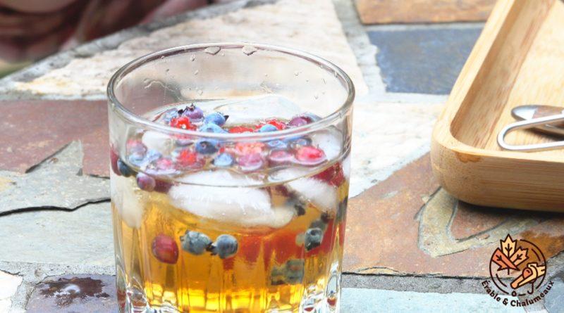 vidéo gin thé érable
