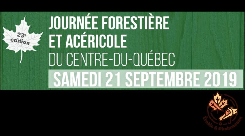vidéo Journée forestière et acéricole 2019