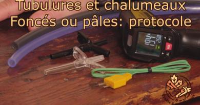 vidéo test couleur équipement