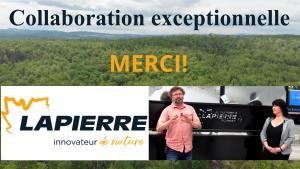 vidéo Équipement Lapierre partenaire exceptionnel