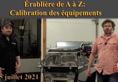 vidéo ÉAZ: calibration équipements