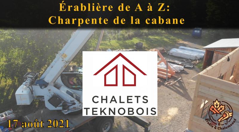 vidéo Érablière A à Z charpente du toit