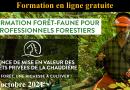 vidéo formation gratuite forêt faune en ligne